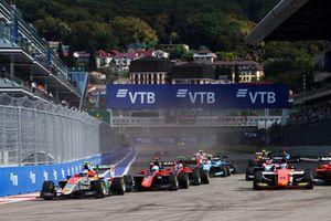 Симо Лааксонен, Campos Racing, и Никита Мазепин, ART Grand Prix
