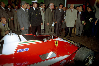 1978, presentation of the F1 Ferrari