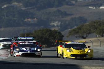 #66 Chip Ganassi Racing Ford GT, GTLM: Dirk Müller, Joey Hand, #3 Corvette Racing Chevrolet Corvette C7.R, GTLM: Antonio Garcia, Jan Magnussen