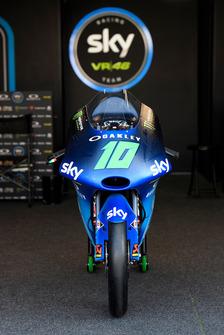 La KTM de Dennis Foggia, Sky Racing Team VR46, avec la livrée spéciale