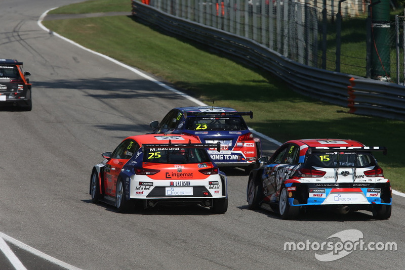 Peter Terting, Autodis Racing by Piro Sports Hyundai i30 N TCR, Mikel Azcona, PCR Sport Cupra TCR