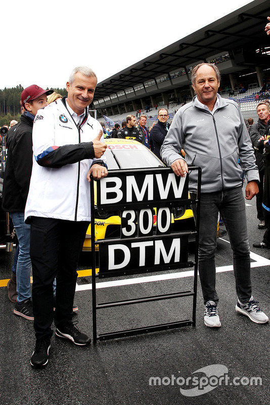 Jens Marquardt, BMW Motorsport Director and Gerhard Berger, ITR Chairman Andreas Beil