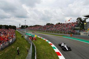 Sergey Sirotkin, Williams FW41, Fernando Alonso, McLaren MCL33
