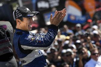 Takuma Sato, Rahal Letterman Lanigan Racing Honda op het podium