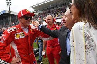 كيمي رايكونن، فيراري وجان تود، رئيس الاتّحاد الدولي للسيارات
