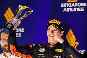 Podyum: 2. Max Verstappen, Red Bull Racing