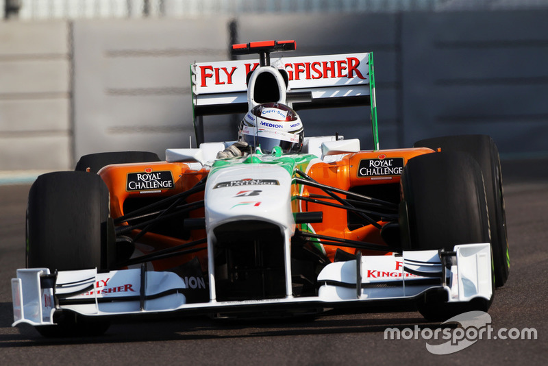 Adrian Sutil, Force India F1 VJM03