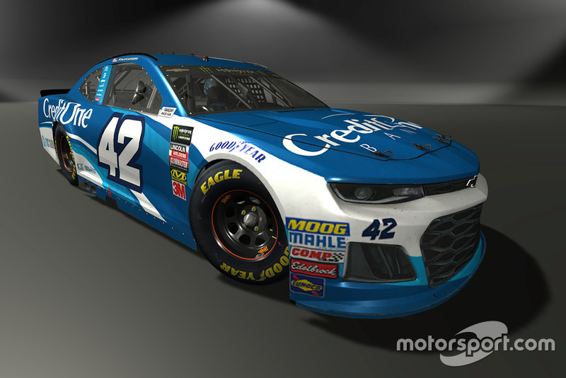 Kyle Larson, Chip Ganassi Racing, Chevrolet Camaro - NASCAR Heat 3 skin