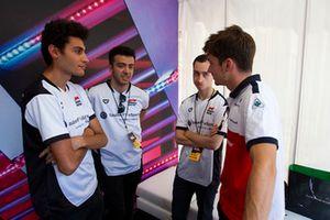 Charles Leclerc, Sauber y pilotos de eSports