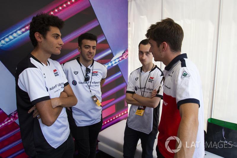 Charles Leclerc, Sauber dan pembalap eSport