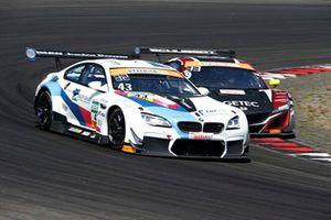 #43 BMW Team Schnitzer BMW M6 GT3: Dennis Marschall, Victor Bouveng