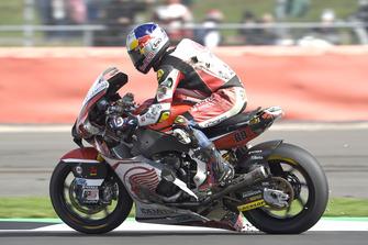 Khairul Idham Pawi, Idemitsu Honda Team Asia after crash