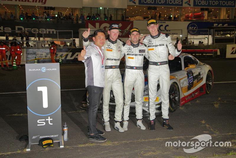 10 horas de Suzuka: Maro Engel, Rafael Marcello, Tristan Wotier, Mercedes-AMG Team GruppeM Racing
