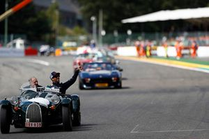 Daniel Ricciardo, Red Bull Racing, on the drivers' parade