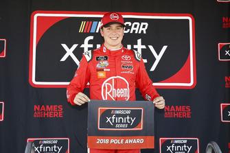 Christopher Bell, Joe Gibbs Racing, Toyota Camry Rheem pole award