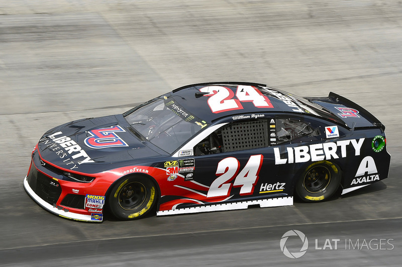 5. William Byron, Hendrick Motorsports, Chevrolet Camaro Liberty University
