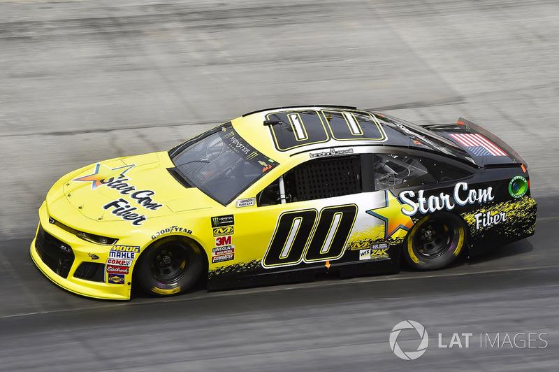 39. Landon Cassill, StarCom Racing, Chevrolet Camaro StarCom Fiber