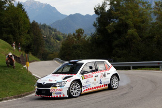 Domenico Erbetta, Matteo Magrin, Skoda Fabia R5, GDA Communication