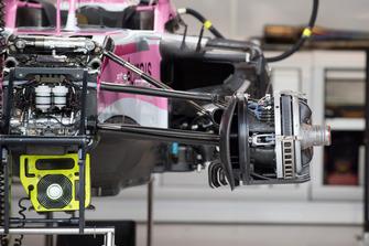 Racing Point Force India VJM11 voorwielconfiguratie