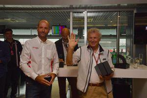 Le photographe Ercole Colombo, au F1 Hall of Fame