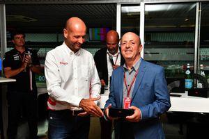 Eric Silberman au F1 Hall of Fame