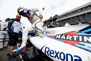 Sergey Sirotkin, Williams FW41, on the grid