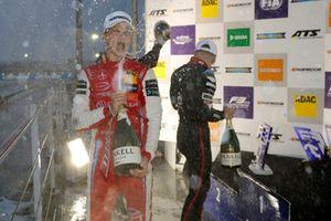 Podium: Ralf Aron, PREMA Theodore Racing Dallara F317 - Mercedes-Benz