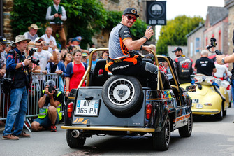 Guerlain Chicherit, GC Competition, during the parade