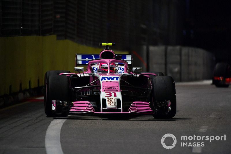9. Esteban Ocon, Racing Point Force India VJM11