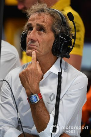 Alain Prost, consigliere speciale, Renault Sport F1 Team