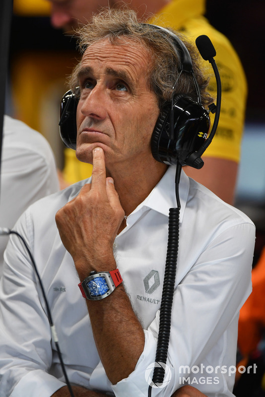 Alain Prost, asesor especial del equipo Renault Sport F1