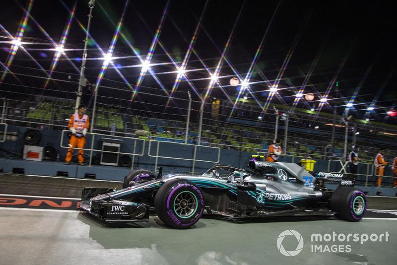 4: Валттери Боттас, Mercedes-AMG F1 W09