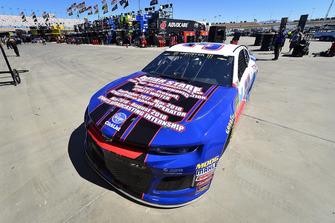 Chris Buescher, JTG Daugherty Racing, Chevrolet Camaro Natural Light Race Day Resume