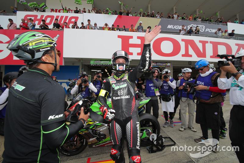 ジョナサン・レイ(#11 Kawasaki Team GREEN)