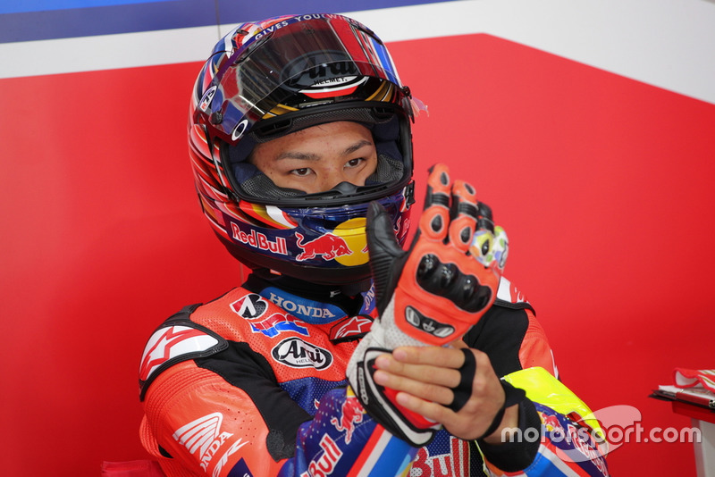 Nakagami Takanori (# 33 Red Bull Honda con Japan Post)