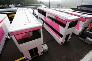 Les camions de Force India
