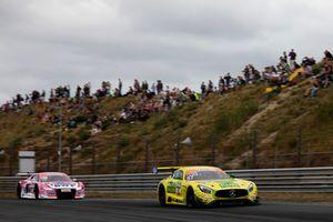 #47 HTP Motorsport Mercedes-AMG GT3: Maximilian Götz, Markus Pommer, #26 BWT Mücke Motorsport Audi R8 LMS: Jeffrey Schmidt, Jamie Green