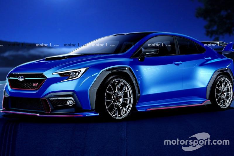 Рендер Subaru 2020
