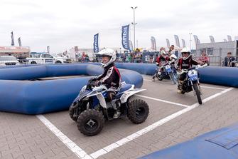Programma voor kinderen tijdens Gamma Racing Day