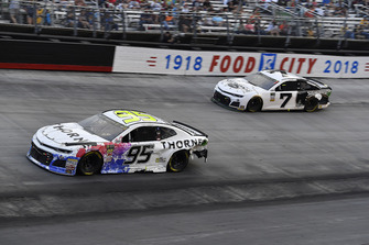 Kasey Kahne, Leavine Family Racing, Chevrolet Camaro Thorne Wellness and J.J. Yeley, Premium Motorsports, Chevrolet Camaro Steakhouse Elite