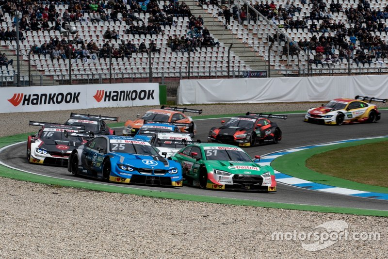 Re-Start, Philipp Eng, BMW Team RBM, BMW M4 DTM, Nico Müller, Audi Sport Team Abt Sportsline, Audi RS 5 DTM