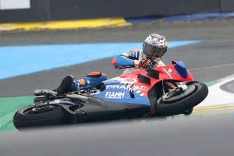Авария: Джек Миллер, Alma Pramac Racing