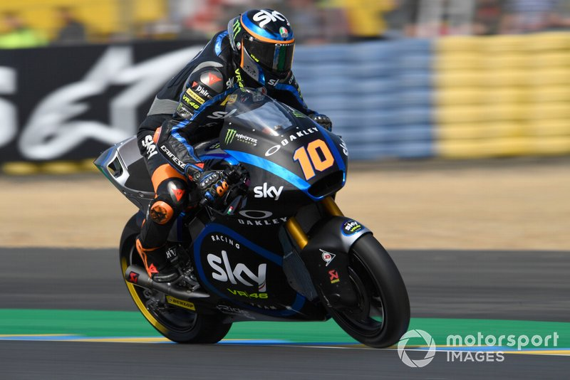 Luca Marini, Sky Racing Team VR46, French Moto2 2019