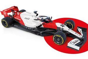 Representación del McLaren MCL34 fantasy