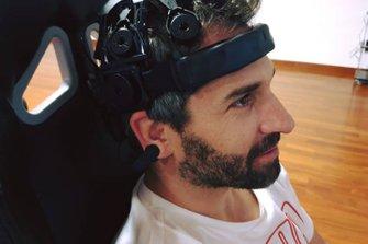 Timo Glock sperimenta il sistema EEG