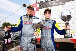 Podium: #20 Balfe Motorsport McLaren 570S GT4: Graham Johnson, Michael O'Brien