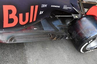 Fondo posteriore della Red Bull Racing RB15