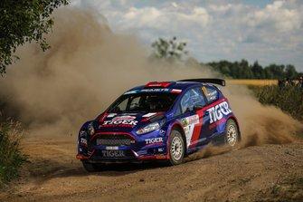 Tomasz Kasperczyk, Damian Syty, Ford Fiesta R5, FIA ERC, RSMP, Rally Poland
