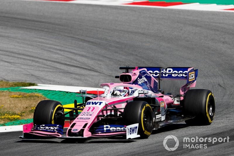 11 - Sergio Perez, Racing Point RP19
