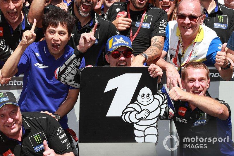 Viñales comemora vitória no GP da Holanda